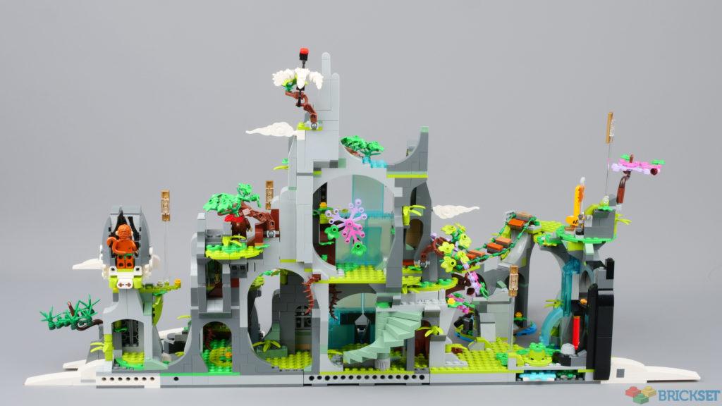 LEGO Monkie Kid 80024 The Legendary Flower Fruit Mountain first look 2