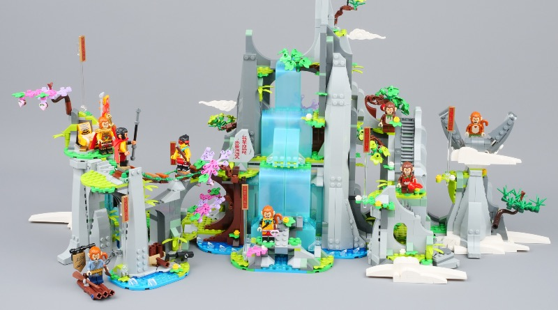 LEGO Monkie Kid 80024 The Legendary Flower Fruit Mountain First Look Featured