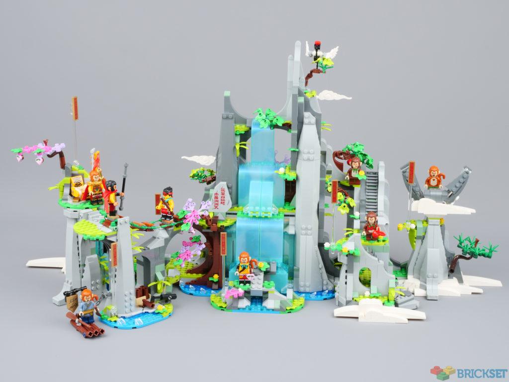 LEGO Monkie Kid 80024 The Legendary Flower Fruit Mountain first look
