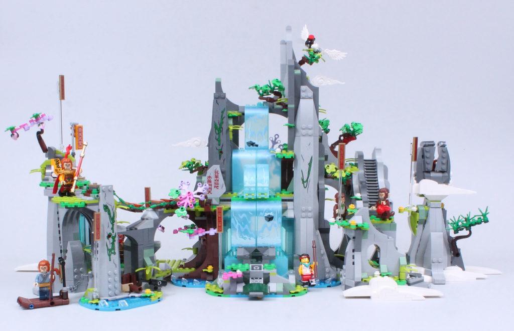 LEGO Monkie Kid 80024 The Legendary Flower Fruit Mountain review 2