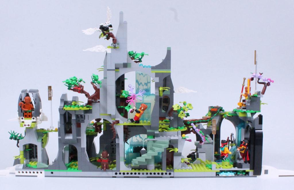 LEGO Monkie Kid 80024 The Legendary Flower Fruit Mountain review 4