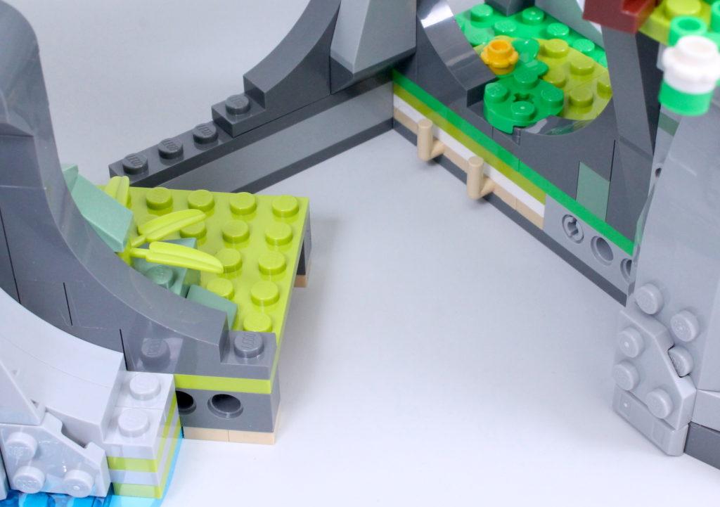 LEGO Monkie Kid 80024 The Legendary Flower Fruit Mountain review 6
