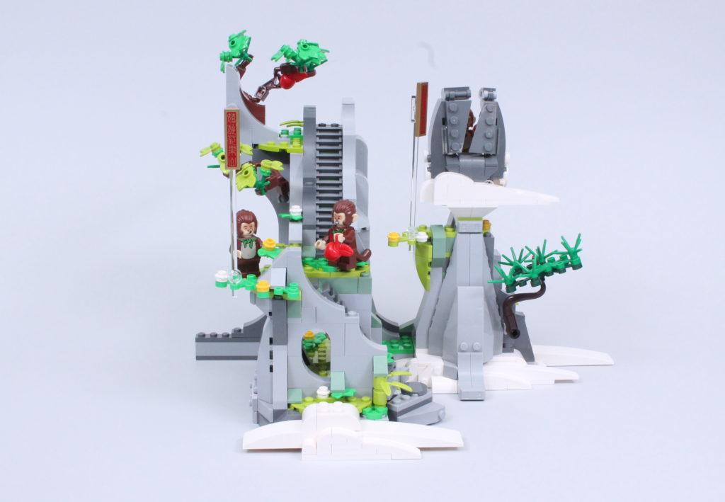 LEGO Monkie Kid 80024 The Legendary Flower Fruit Mountain review 7
