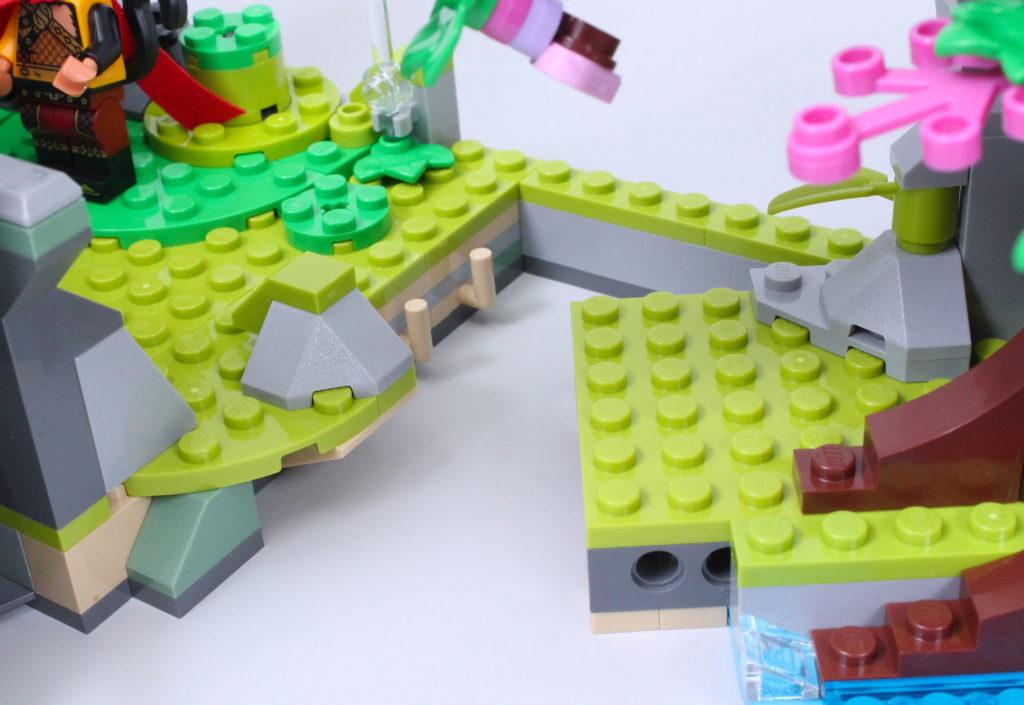 LEGO Monkie Kid 80024 The Legendary Flower Fruit Mountain review 8