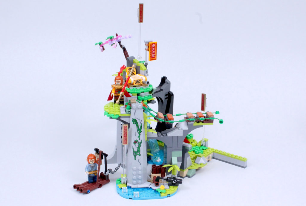 LEGO Monkie Kid 80024 The Legendary Flower Fruit Mountain review 9