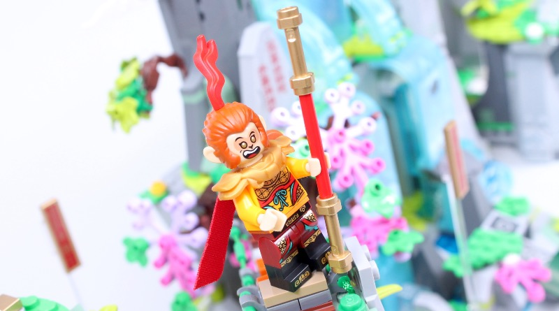 LEGO Monkie Kid 80024 The Legendary Flower Fruit Mountain Review Featured