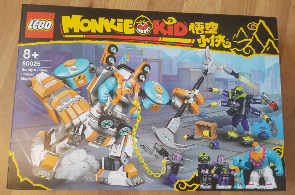 LEGO Monkie Kid 80025 Sandys Power Loader Mech 1