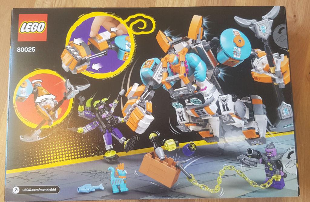 LEGO Monkie Kid 80025 Sandys Power Loader Mech 2