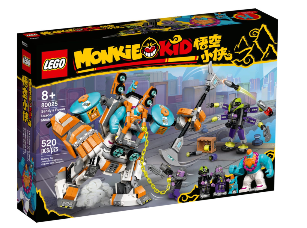LEGO Monkie Kid 80025 Sandys Power Loader Mech