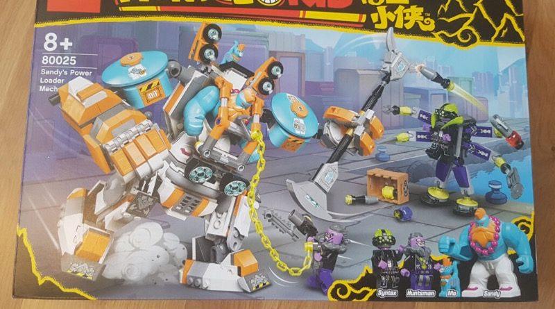 LEGO Monkie Kid 80025 Sandys Power Loader Mech featured 1