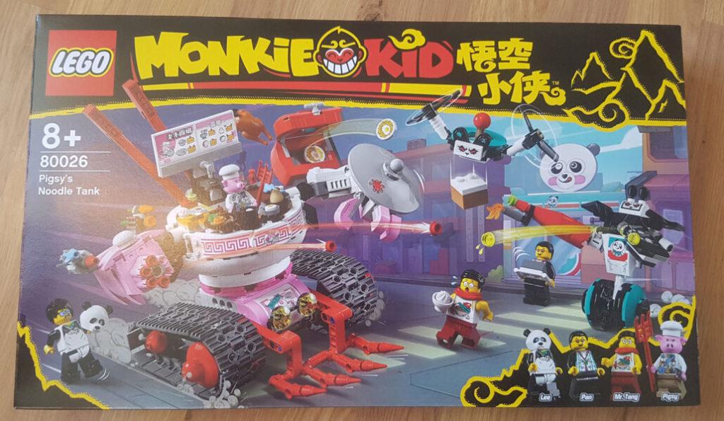 LEGO Monkie Kid 80026 Pigsys Noodle Tank 1