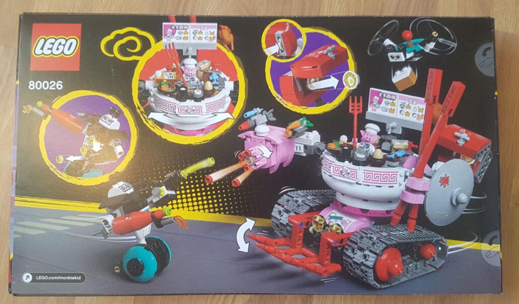 LEGO Monkie Kid 80026 Pigsys Noodle Tank 2