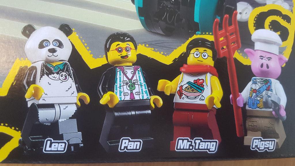 LEGO Monkie Kid 80026 Pigsys Noodle Tank 3