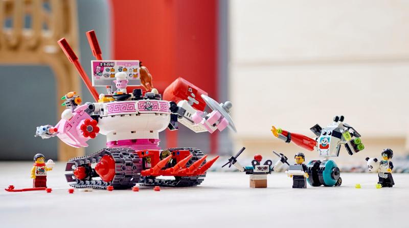 LEGO Monkie Kid 80026 Pigsys Noodle Tank Lifestyle Featured