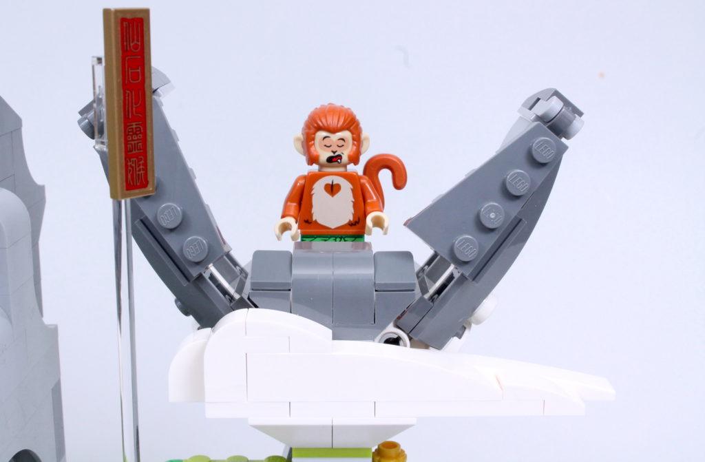 LEGO Monkie Kid The Legendary Flower Fruit Mountain review 12