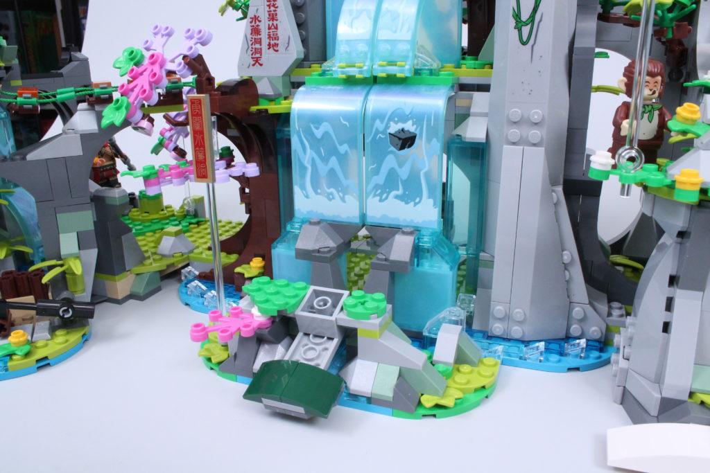 LEGO Monkie Kid The Legendary Flower Fruit Mountain review 18