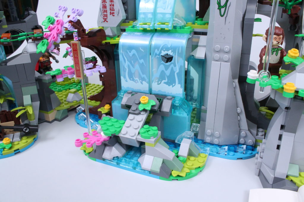 LEGO Monkie Kid The Legendary Flower Fruit Mountain review 19