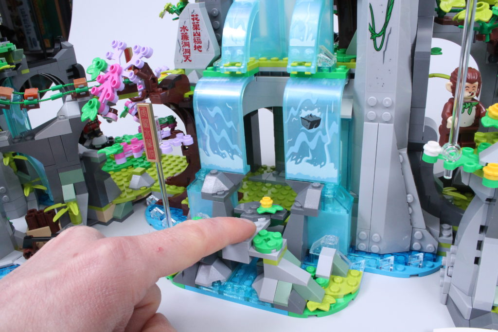 LEGO Monkie Kid The Legendary Flower Fruit Mountain review 20