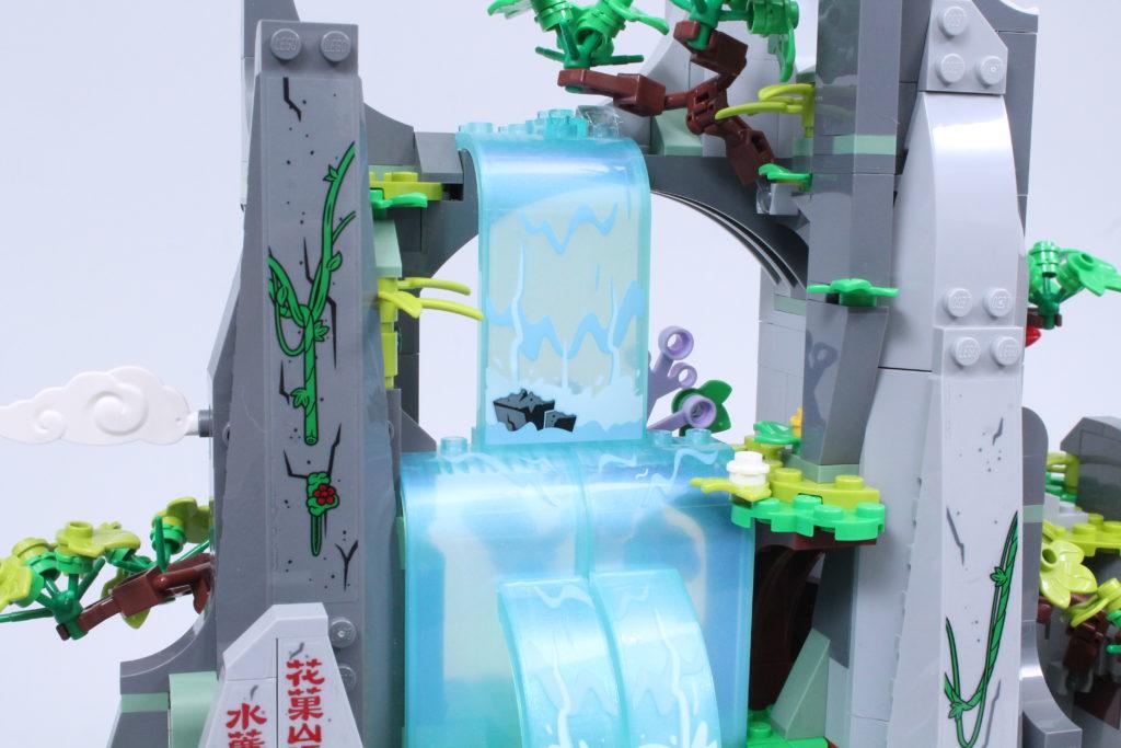LEGO Monkie Kid The Legendary Flower Fruit Mountain review 21
