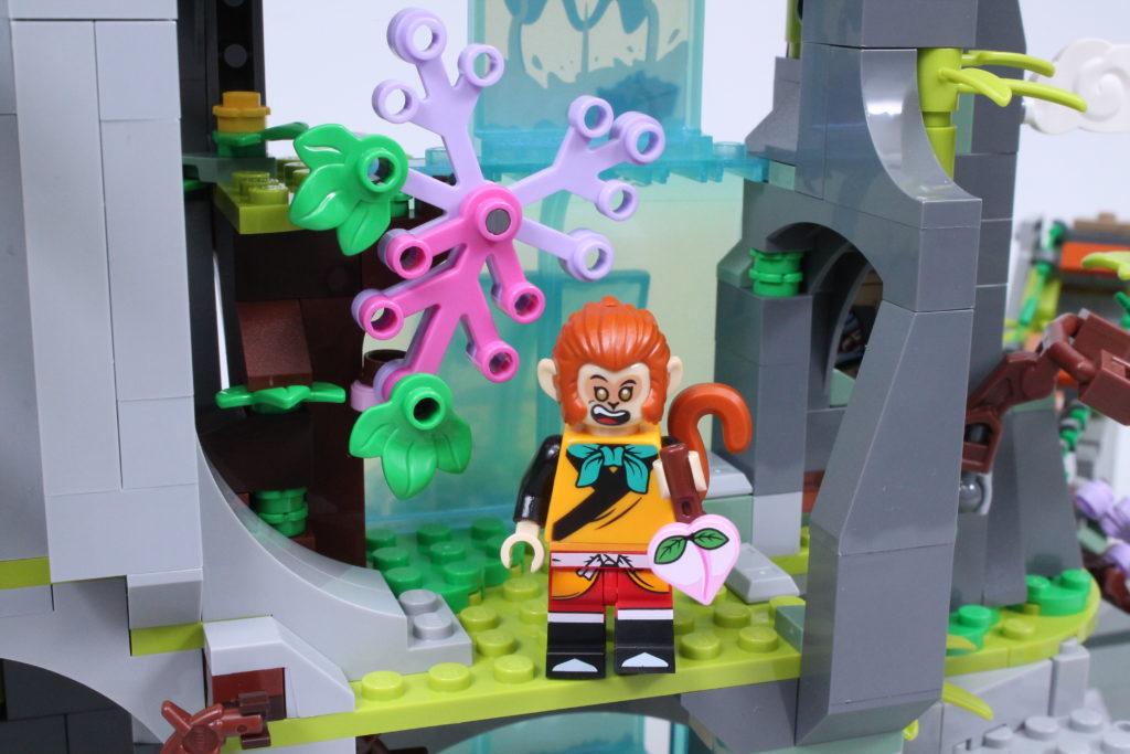 LEGO Monkie Kid The Legendary Flower Fruit Mountain review 24