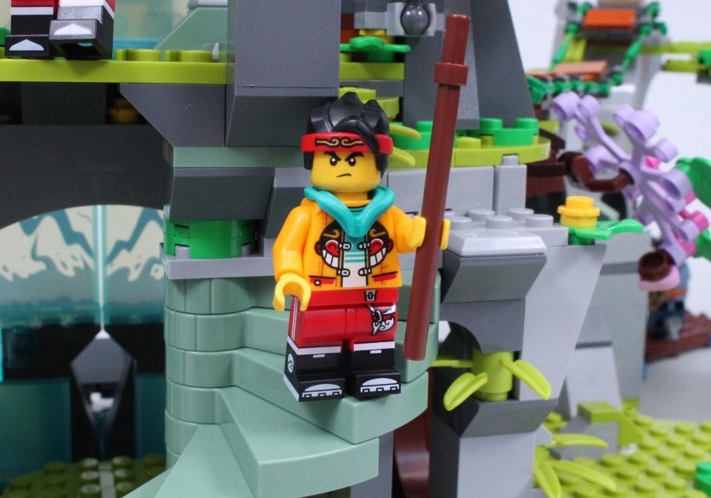 LEGO Monkie Kid The Legendary Flower Fruit Mountain review 26