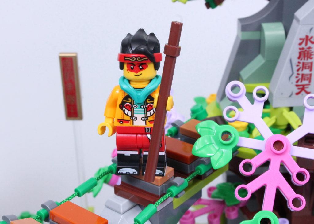 LEGO Monkie Kid The Legendary Flower Fruit Mountain review 27