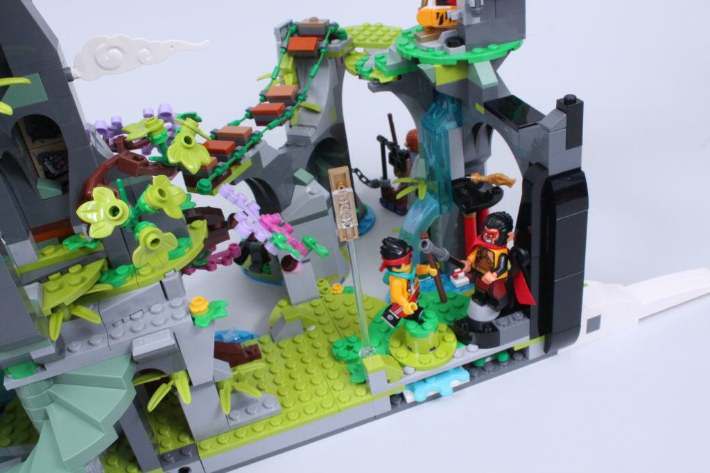 LEGO Monkie Kid The Legendary Flower Fruit Mountain review 29