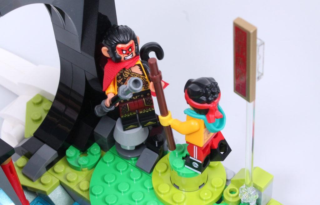 LEGO Monkie Kid The Legendary Flower Fruit Mountain review 30