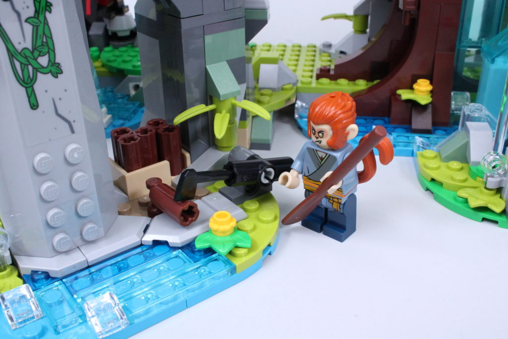 LEGO Monkie Kid The Legendary Flower Fruit Mountain review 32
