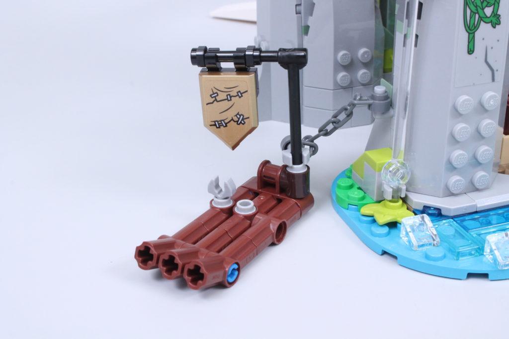 LEGO Monkie Kid The Legendary Flower Fruit Mountain review 34