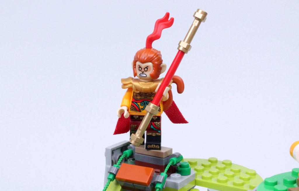 LEGO Monkie Kid The Legendary Flower Fruit Mountain review 36