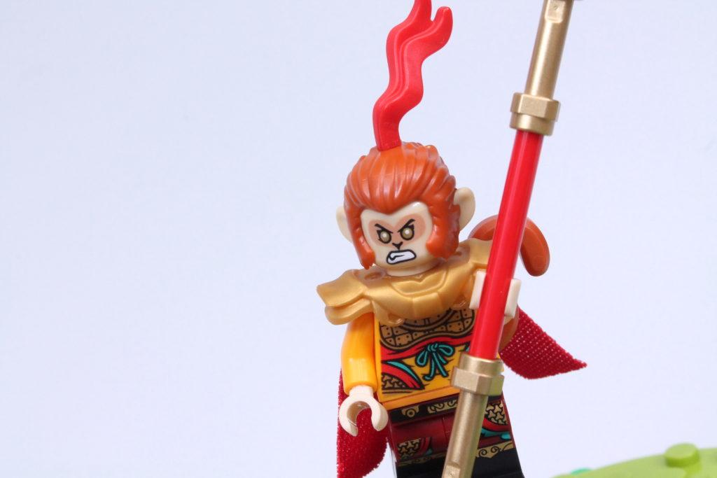 LEGO Monkie Kid The Legendary Flower Fruit Mountain review 37