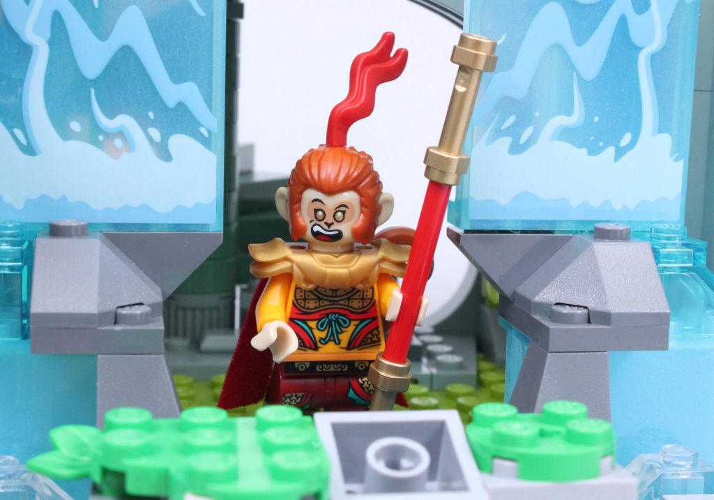 LEGO Monkie Kid The Legendary Flower Fruit Mountain review 38