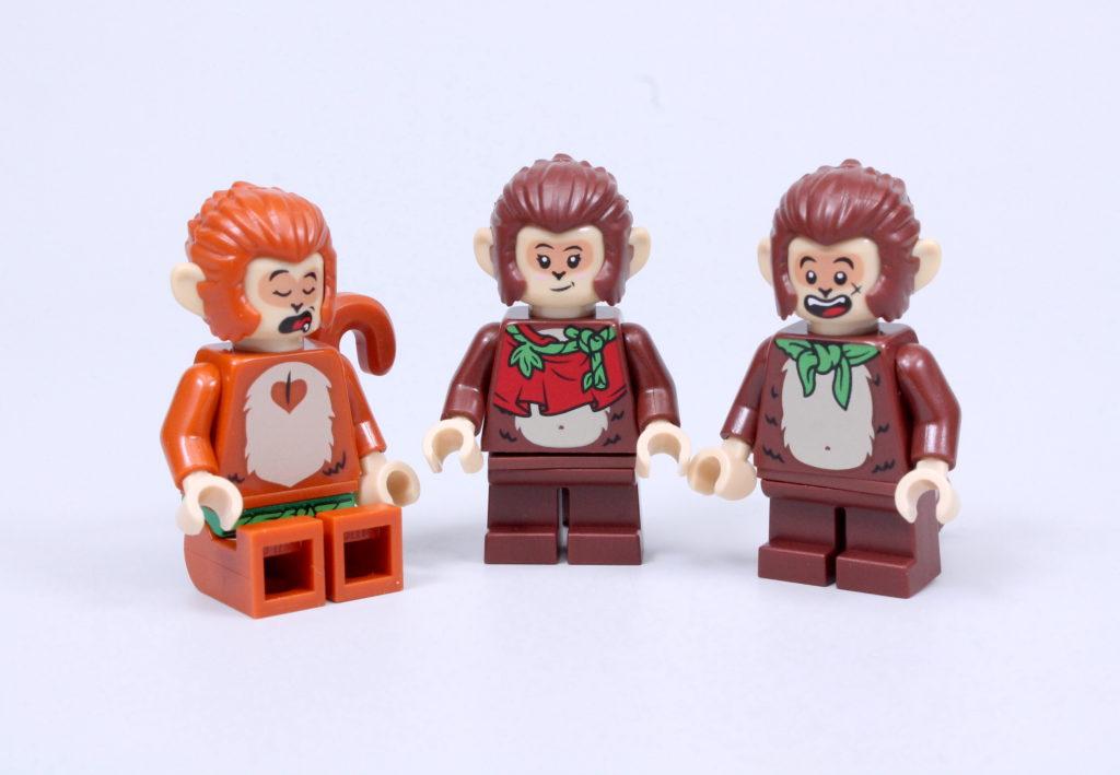 LEGO Monkie Kid The Legendary Flower Fruit Mountain review 44