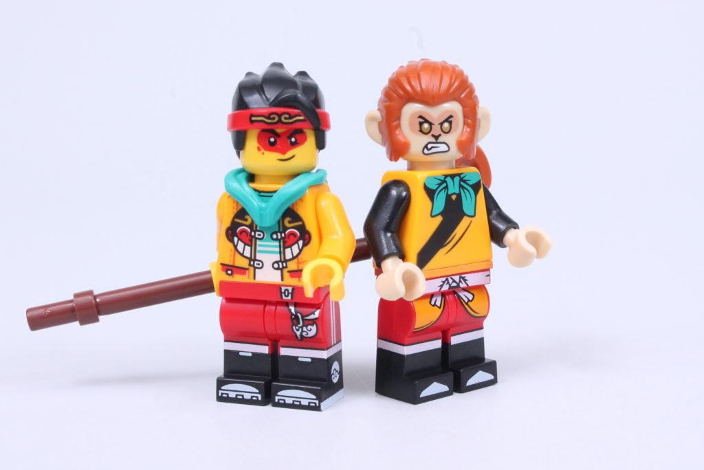 LEGO Monkie Kid The Legendary Flower Fruit Mountain review 47