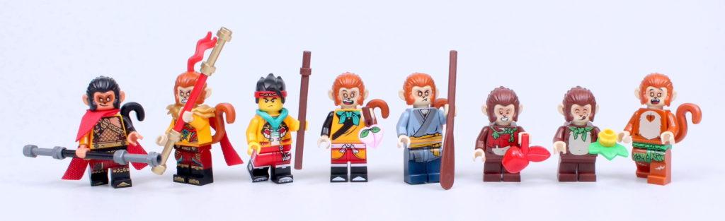 LEGO Monkie Kid The Legendary Flower Fruit Mountain review 53