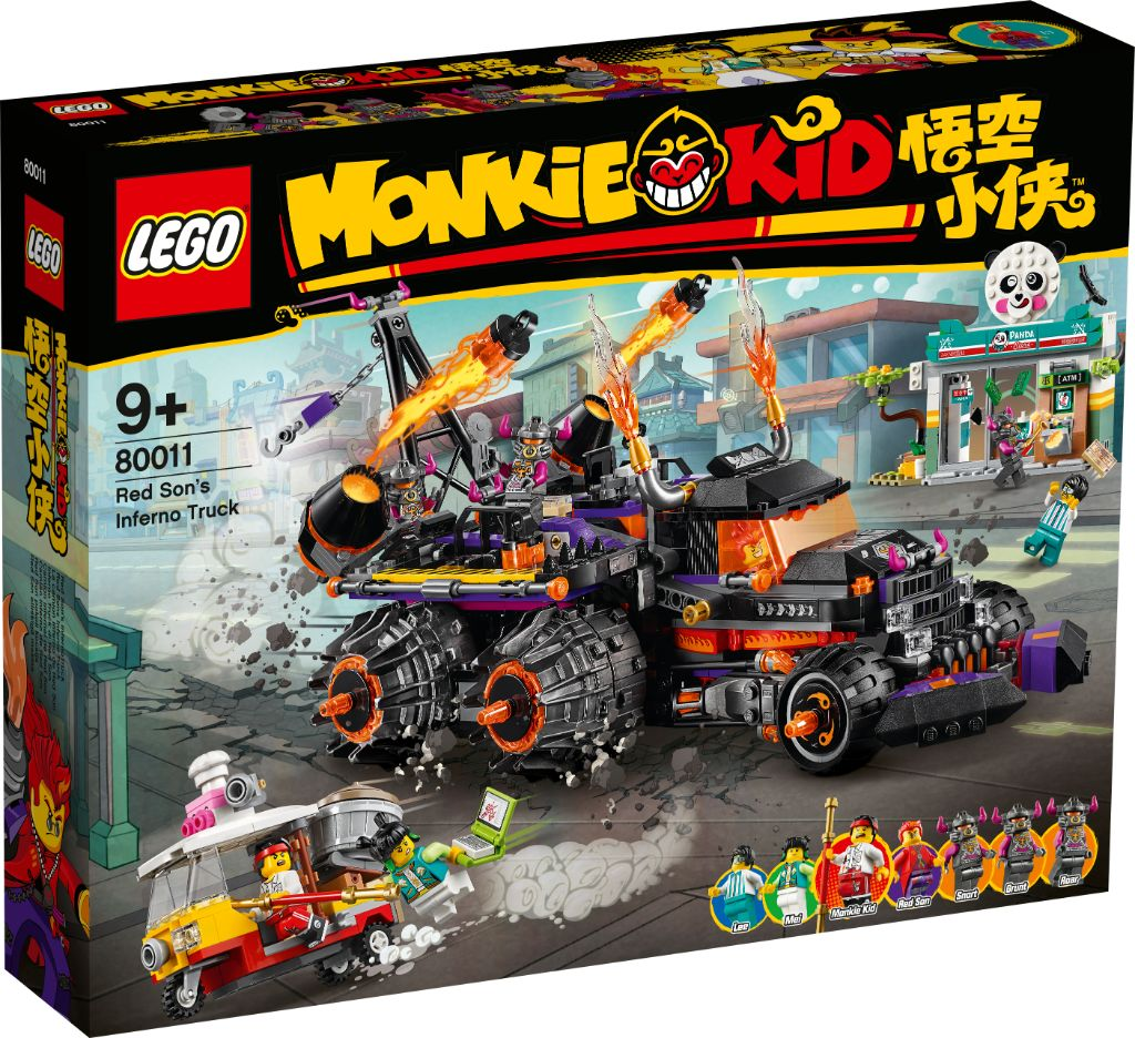 LEGO Monkie Kid Boxed Images 16