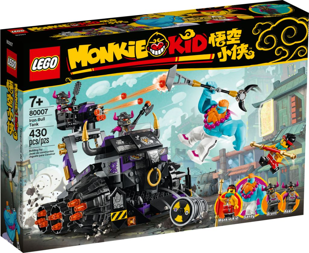 LEGO Monkie Kid Boxed Images 4