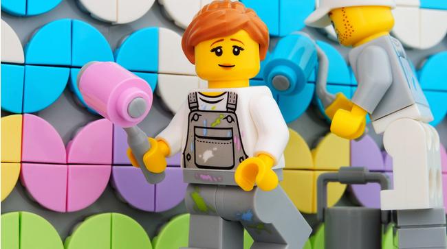 LEGO Mural Fp