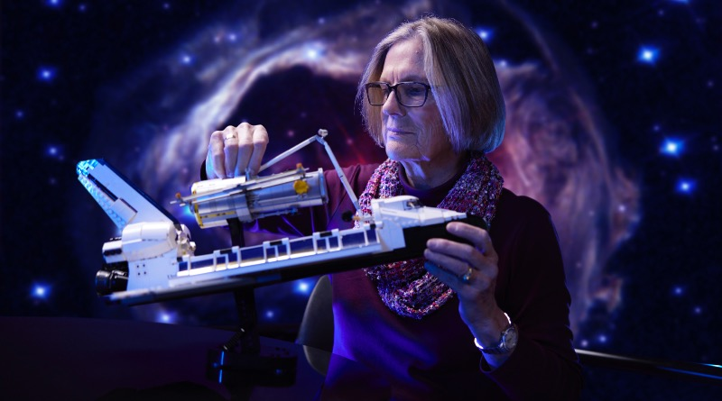 LEGO NASA Space Shuttle DiscoveryDr Kathy Sullivan Featured