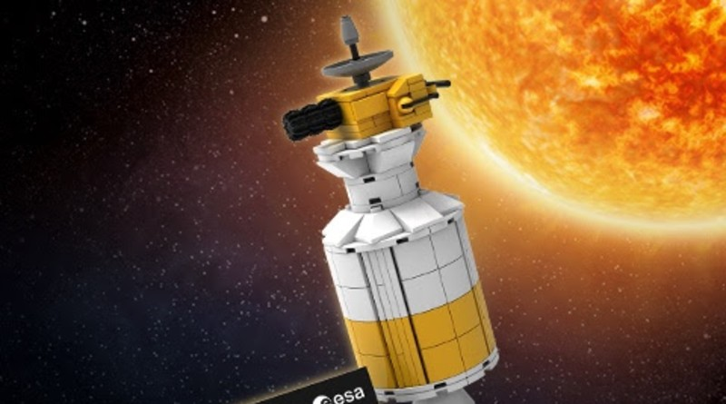 LEGO NASA Ulysses Space Probe Upright Featured