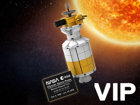LEGO NASA VIP Ulysses Space Probe 2