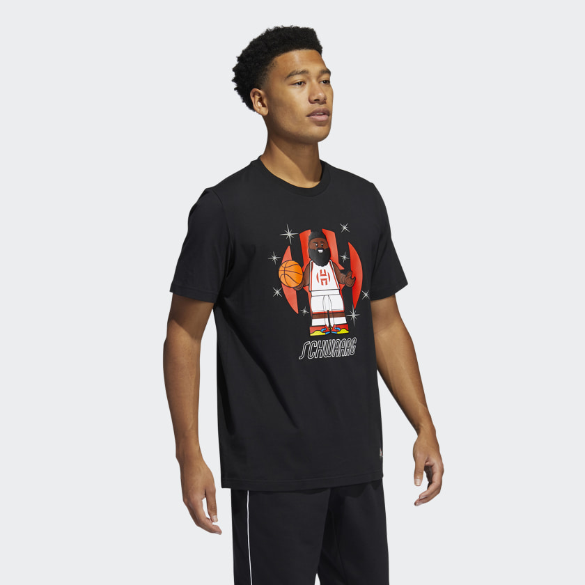 LEGO NBA Adidas James Harden shirt 5