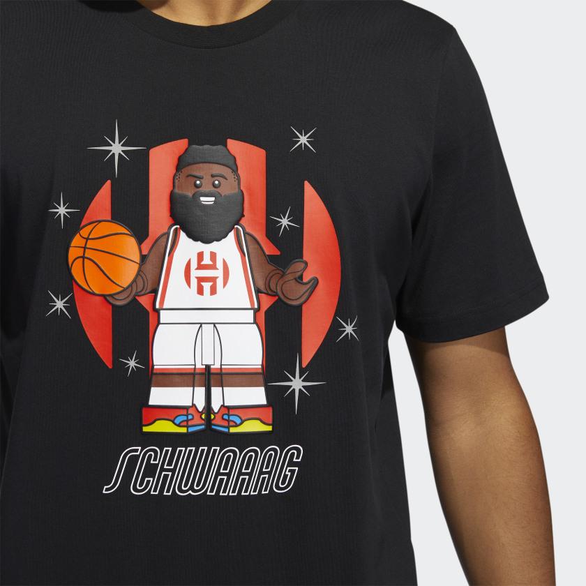 LEGO NBA Adidas James Harden shirt 6