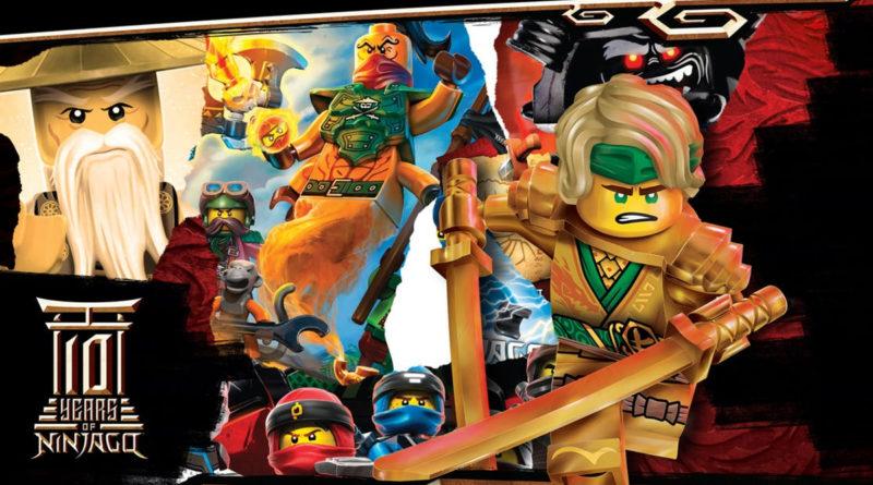 LEGO NINJAGO 10th anniversary key art resized featured