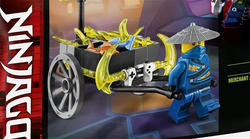 LEGO NINJAGO 30537 Merchant Avatar Jay Featured 800 445