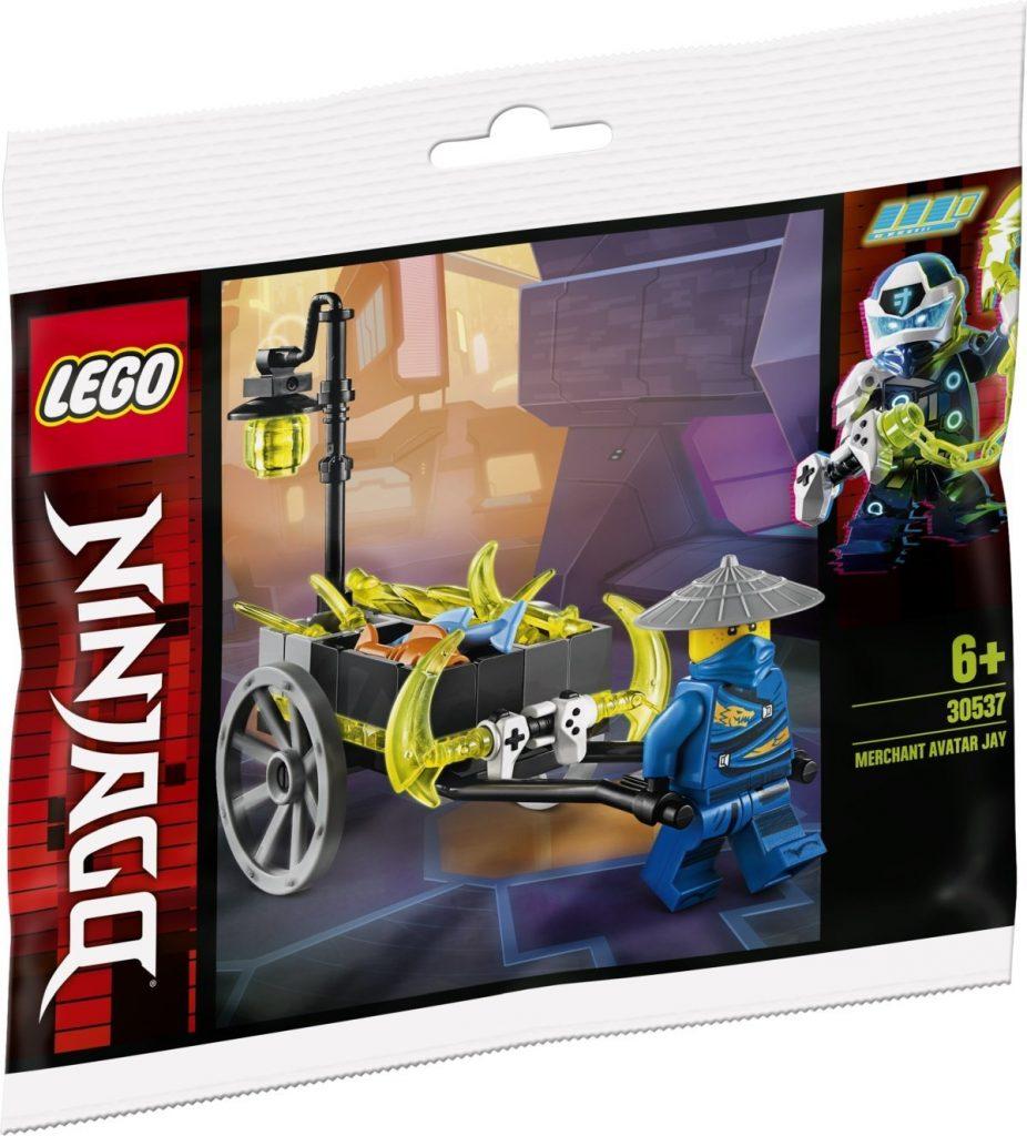LEGO NINJAGO 30537 Merchant Avatar Jay