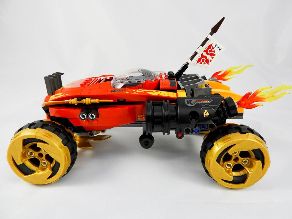 LEGO NINJAGO 70675 Katana 4x4 8