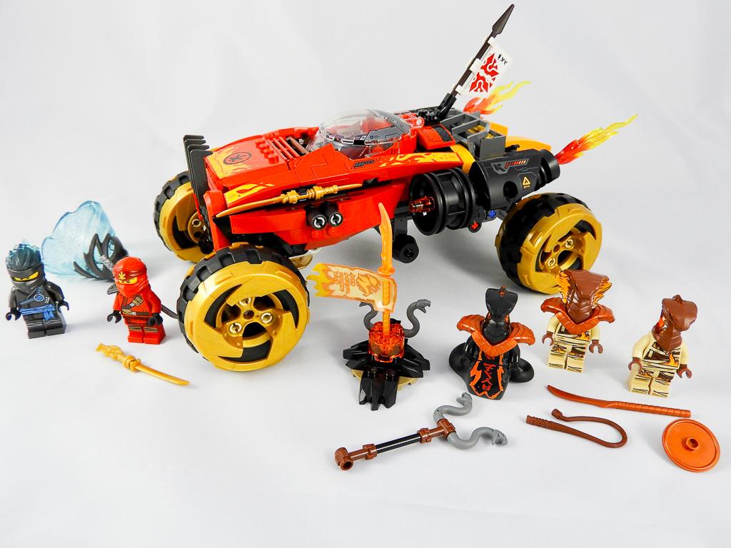 LEGO NINJAGO 70675 Katana 4x4 review