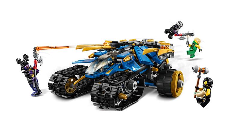 LEGO NINJAGO 71699 Thunder Raider Featured